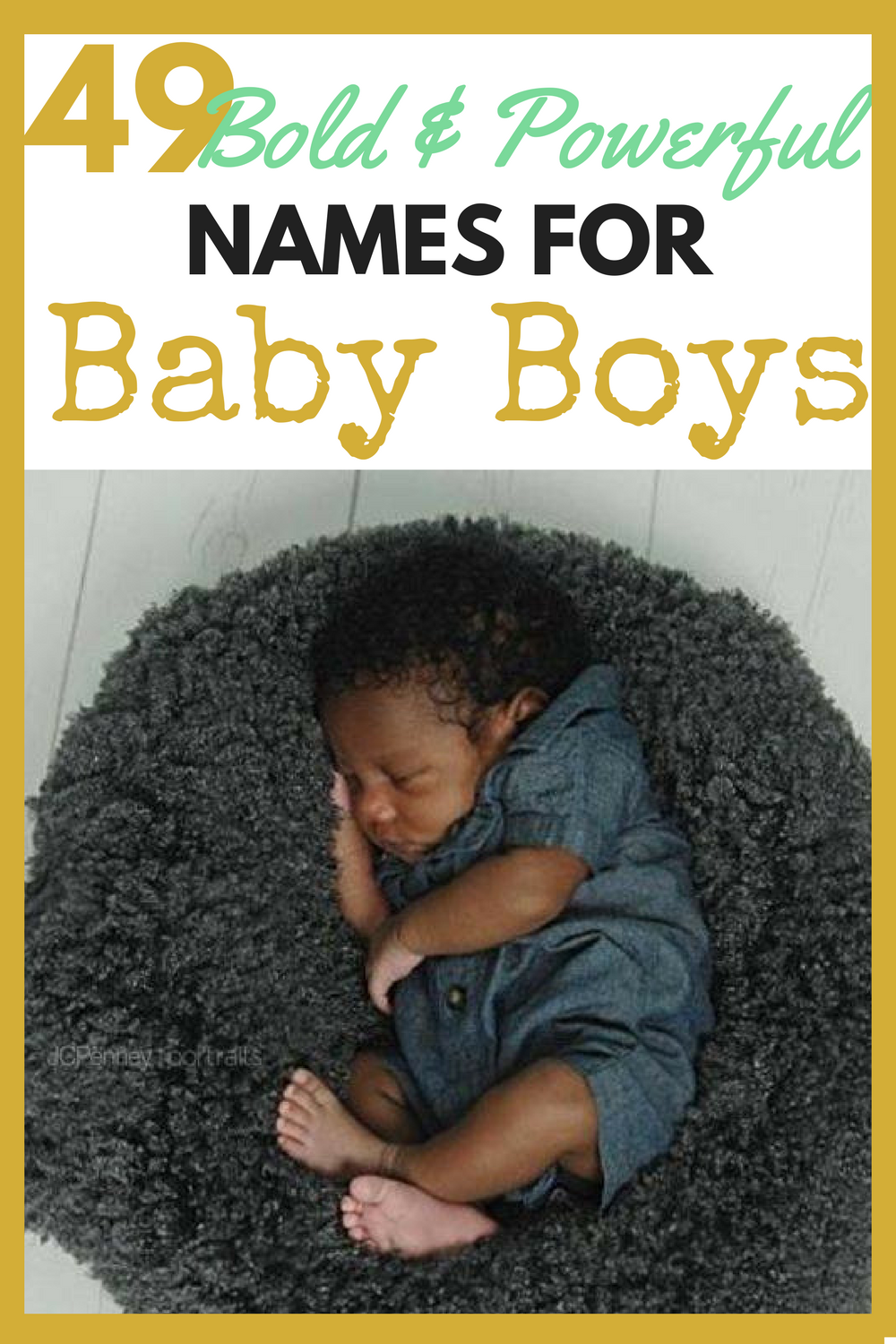 49 Powerful Baby Names for African American Boys